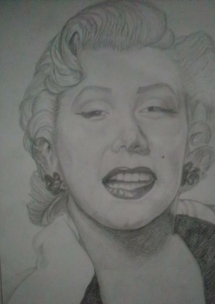 Marilyn Monroe by miguelg
